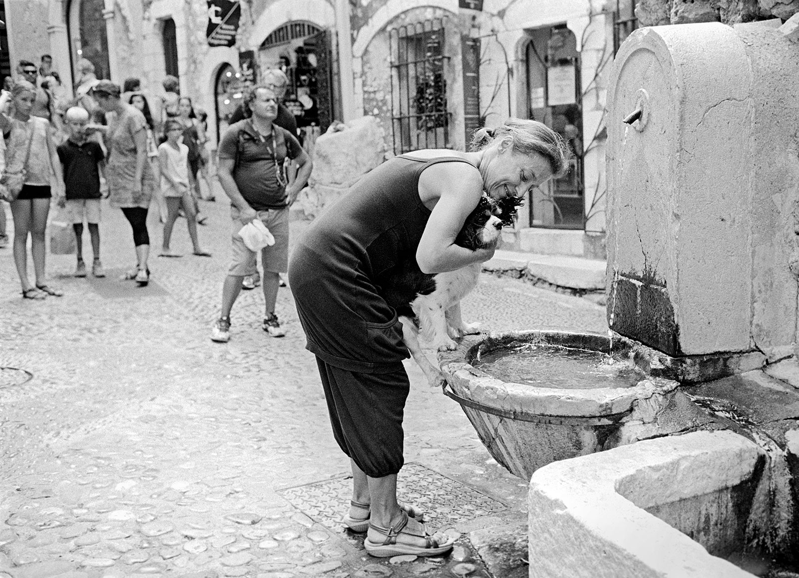 Watering hole, St. Paul de Vence