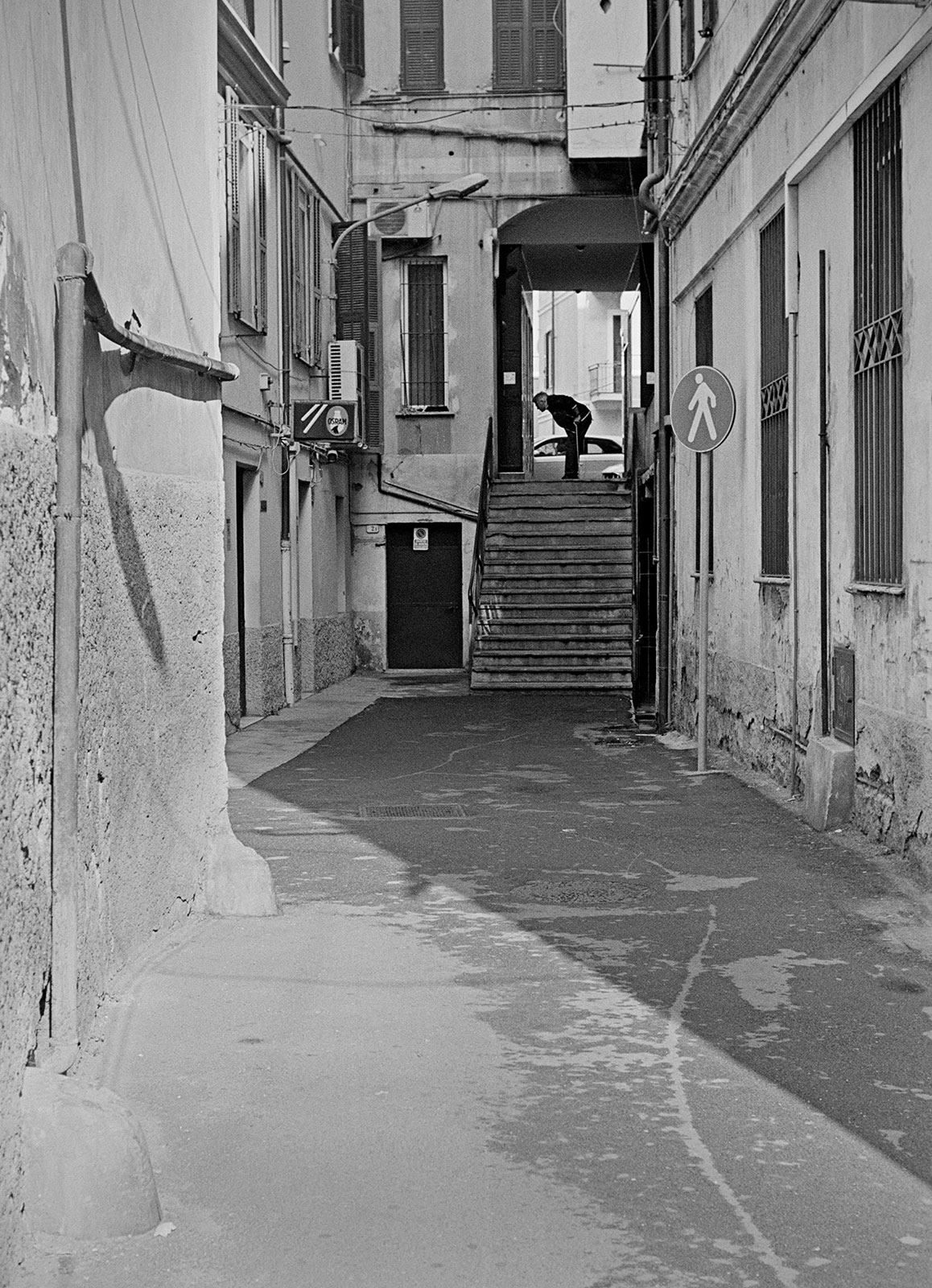 Ventimiglia, Via Aprosio