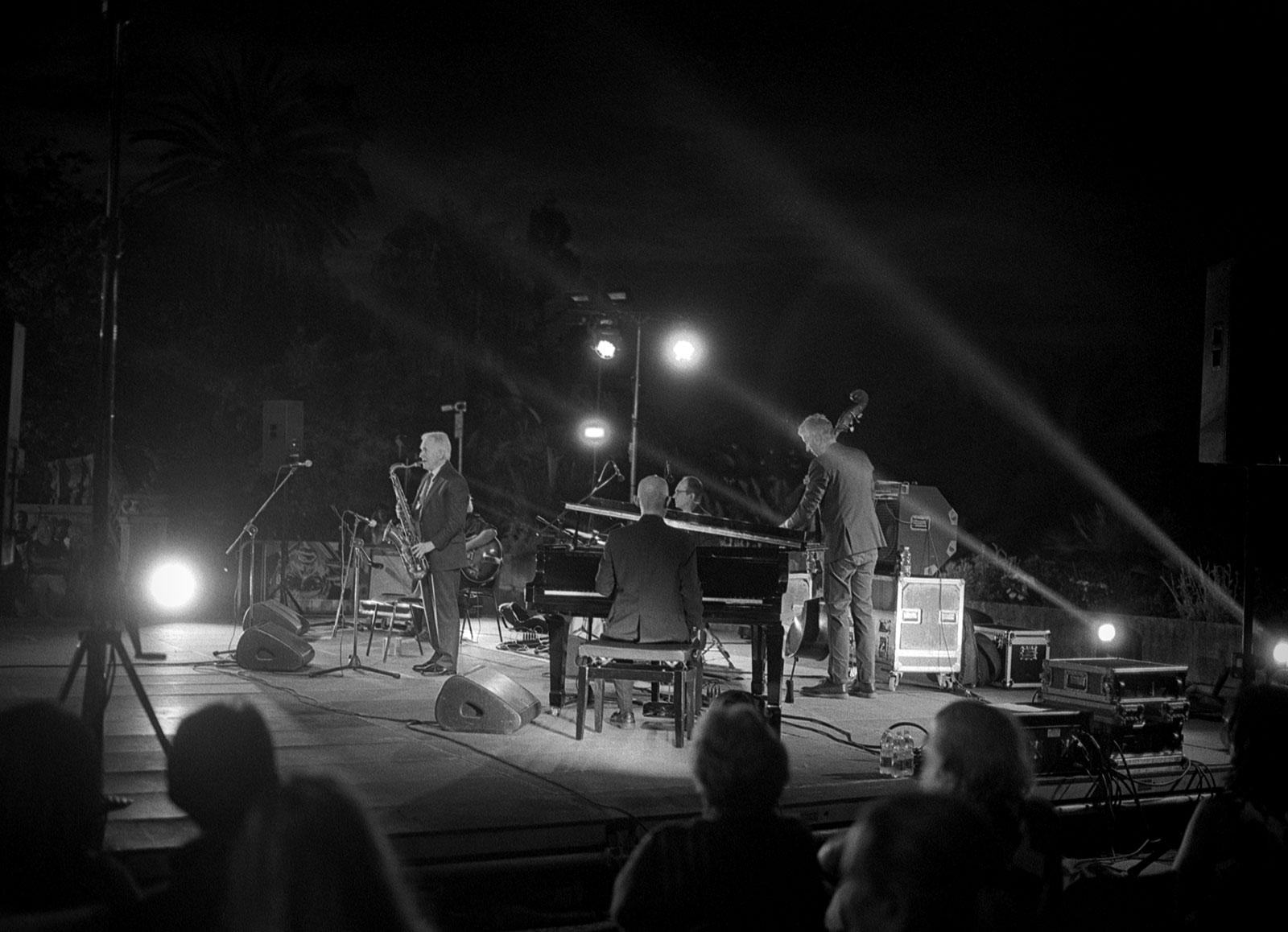 Scott Hamilton Quintet, Giardini Ormond, Sanremo